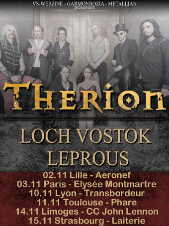 THERION - Toulouse / tournefeuille nov 2010